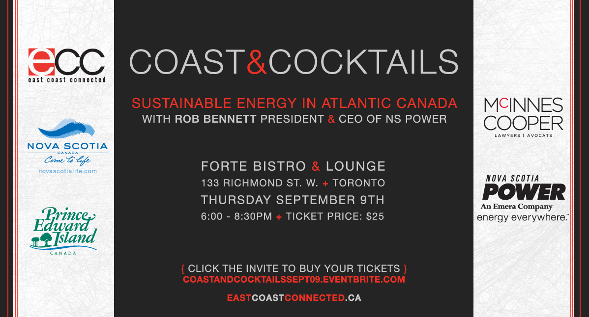 ECC Coast and Cocktails - Sept. 09 with Rob Bennett