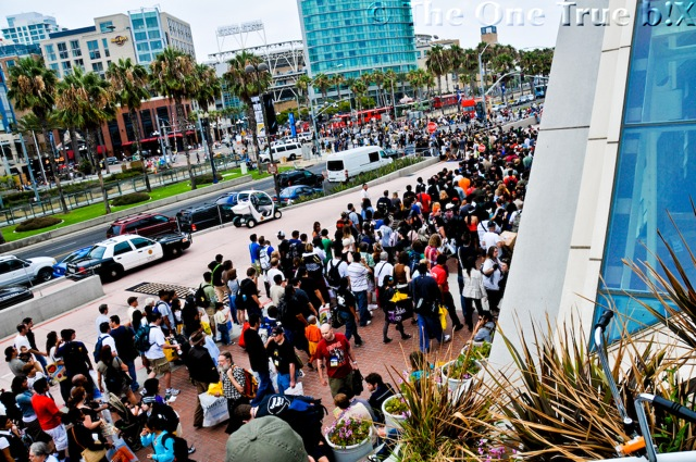 San Diego during comic con by theonetrueb!X