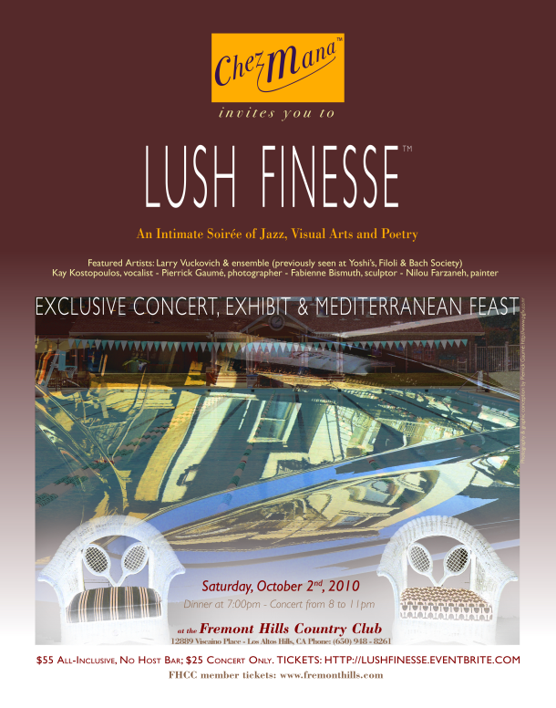 Lush Finesse Event Poster