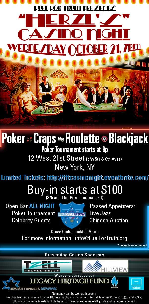 FFT Casino NIght e-flyer