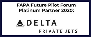 FAPA Future Pilot Forum Platinum Partner Delta Private Jets