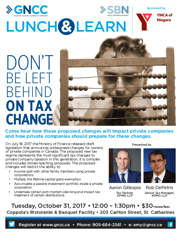 Don't Be Left Behind on Tax Change