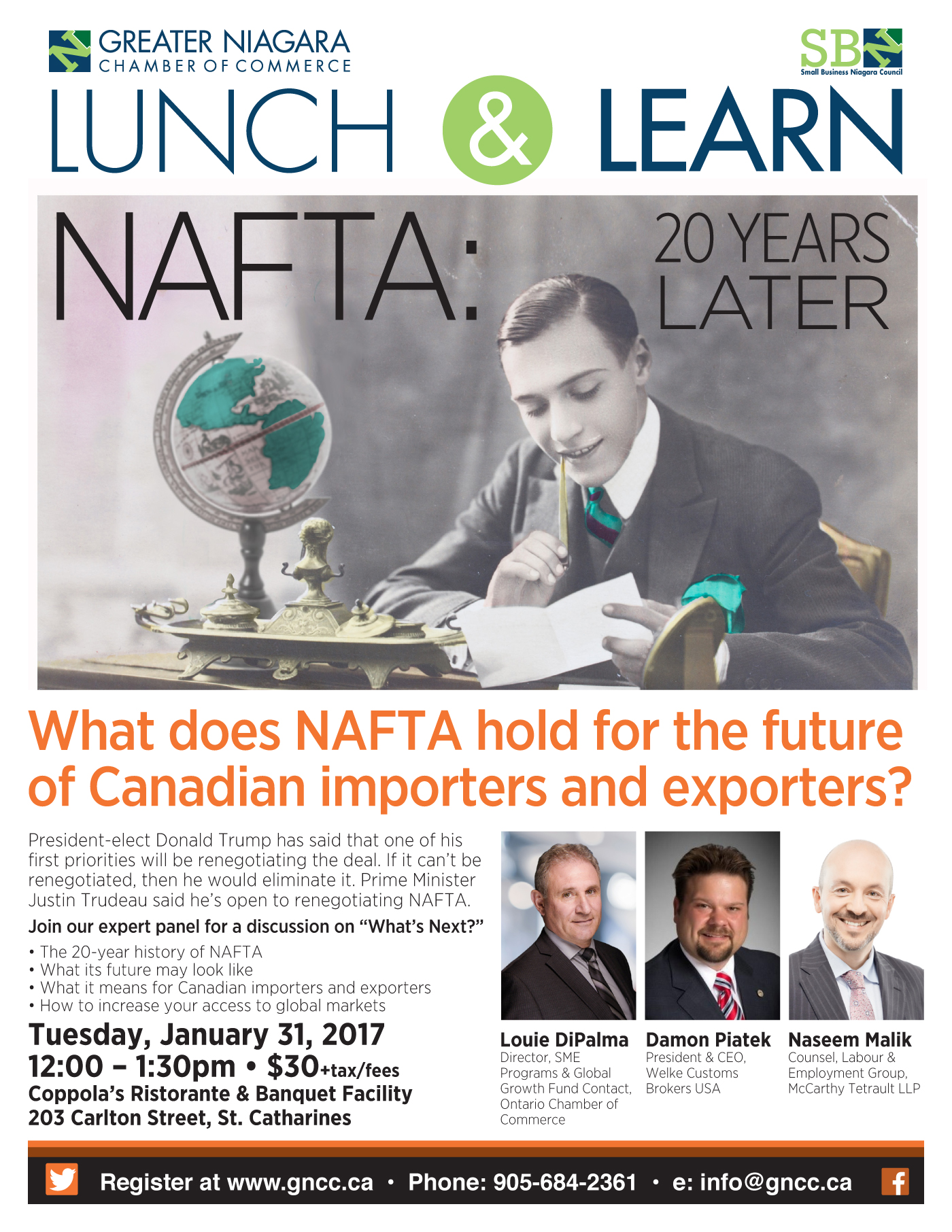 What does NAFTA hold for the future of Canadian importers and exporters?