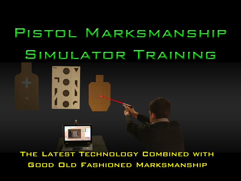 Laser Pistol Training