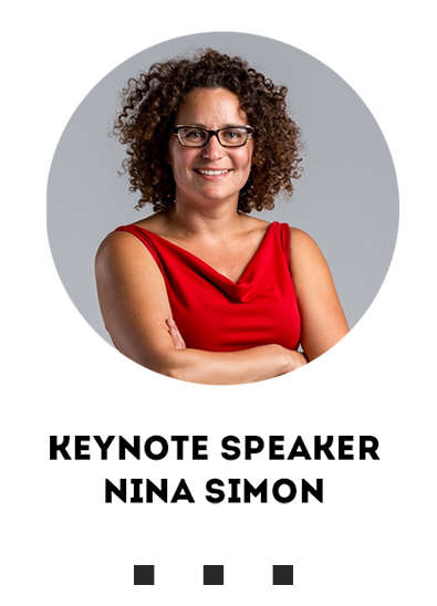 Photo of Keynote Speaker Nina Simon