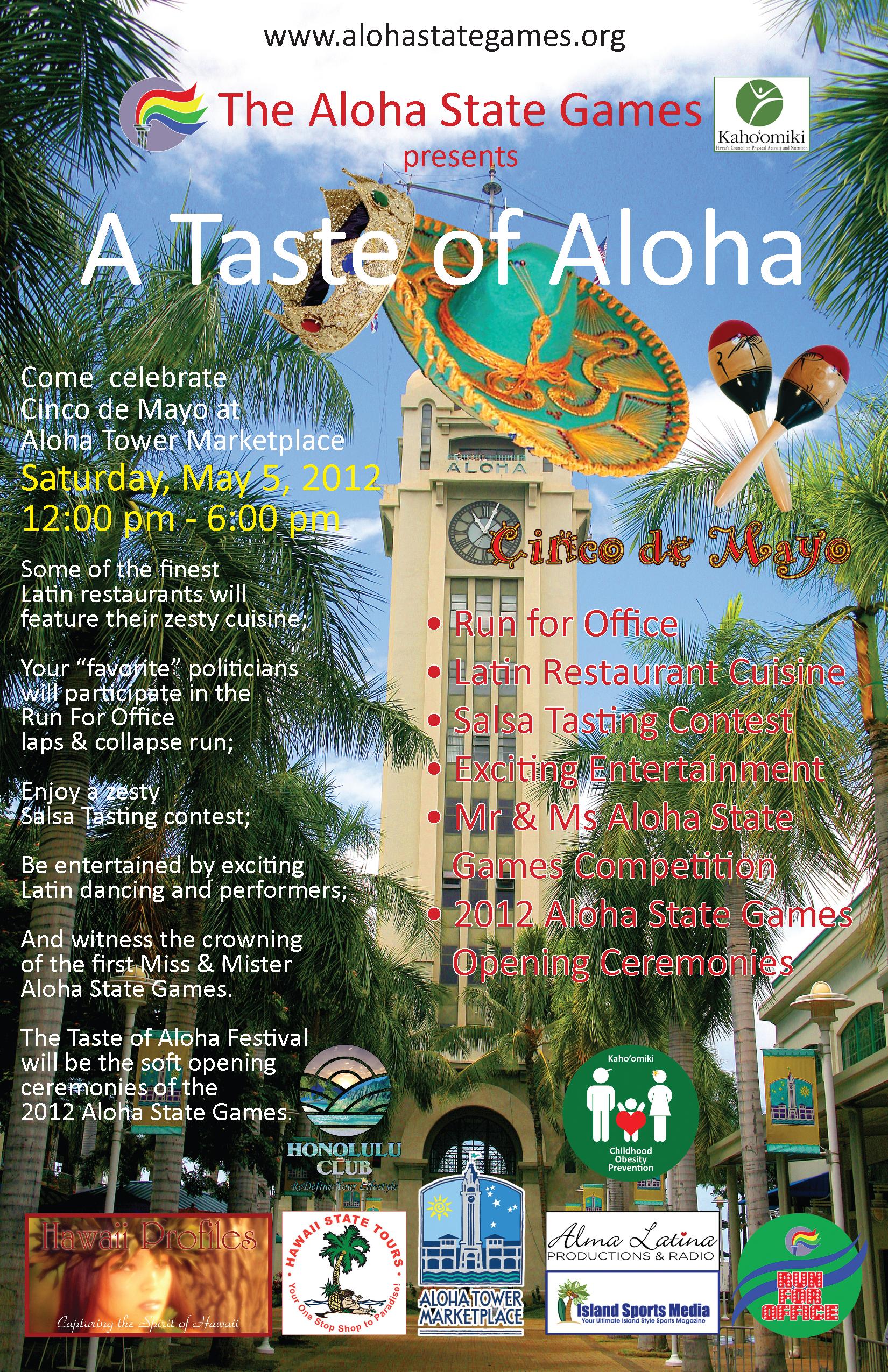 Poster Taste of Aloha