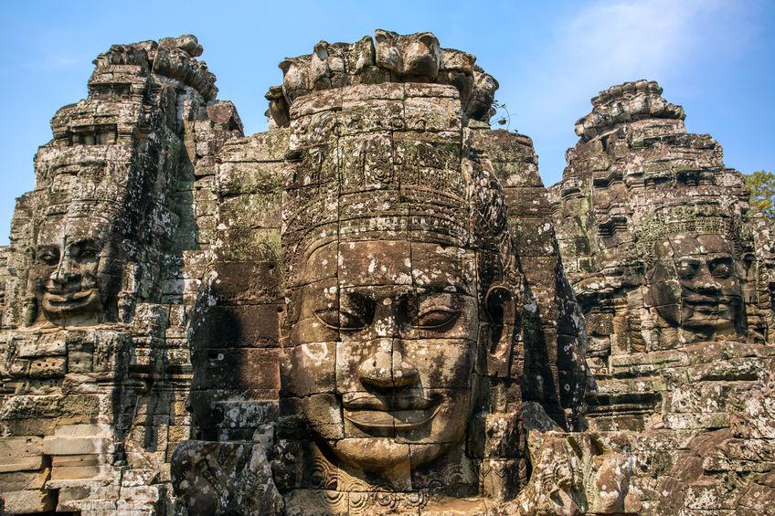 Ang Kor Wat buddha face