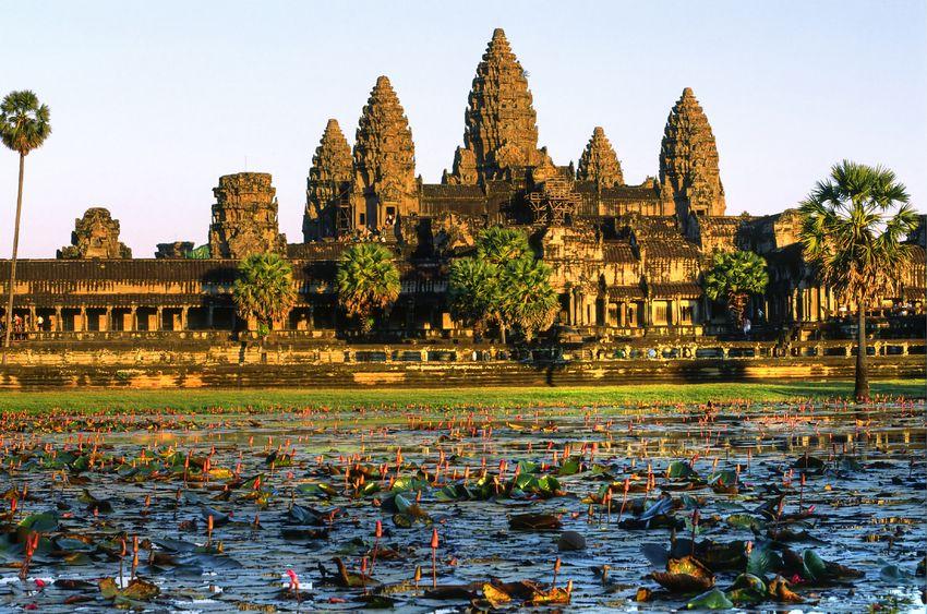 Ang Kor Wat sunset