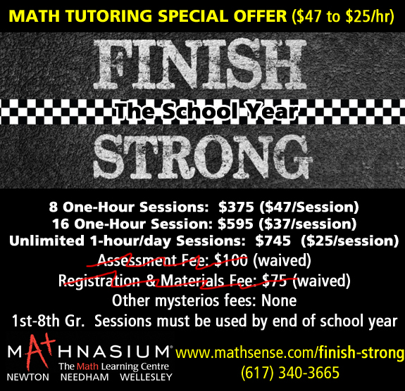 Math Tutoring Special Offer - Finish Strong