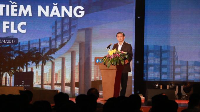 Ngô Văn Tuấn – Phó Chủ tịch UBND tỉnh Thanh Hóa phát biểu tại sự kiện