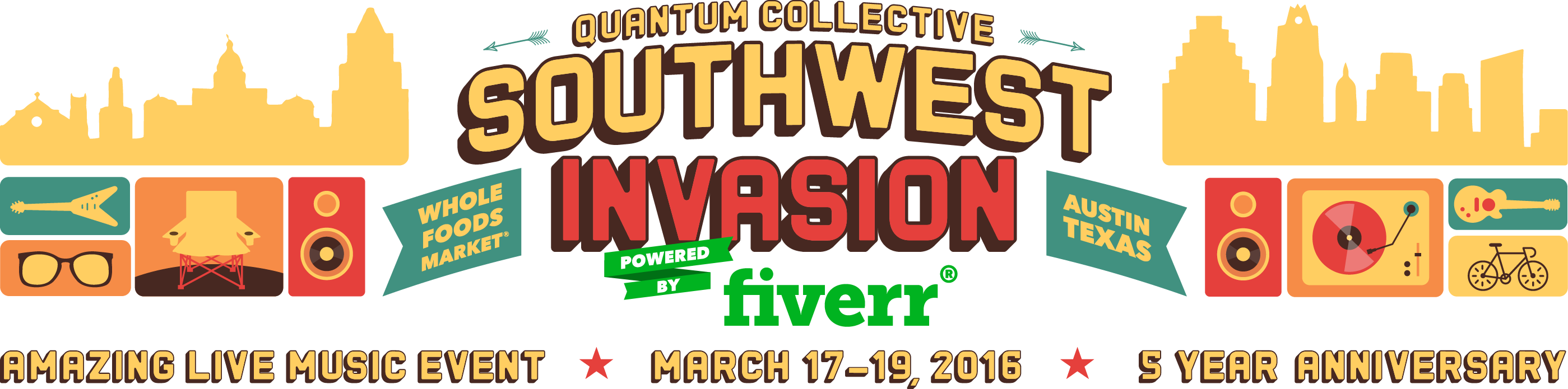 Southwest Invasion 2016 Powered By Fiverr