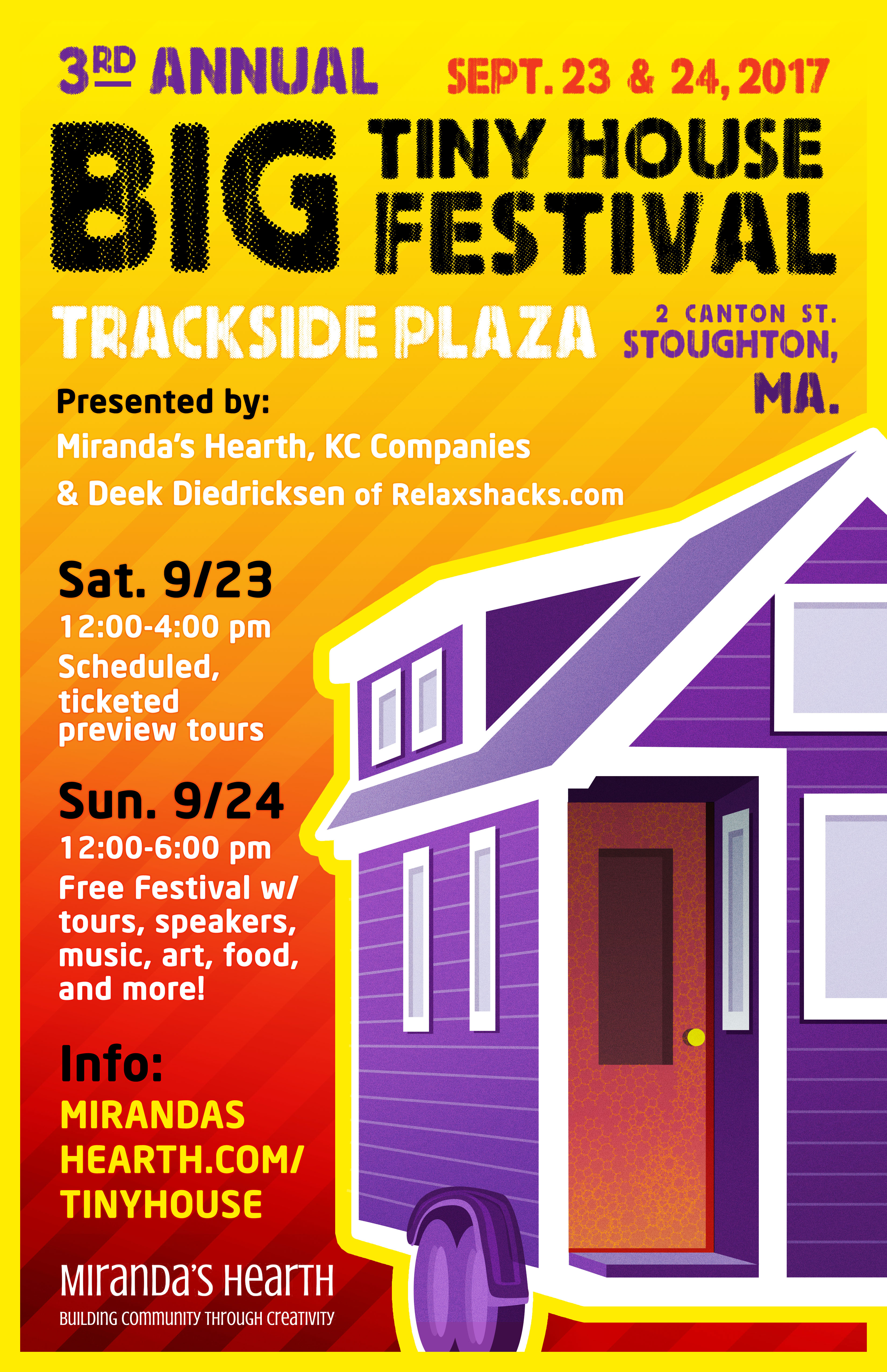 Ticketed Tiny House Tours Tickets Sat Sep at PM