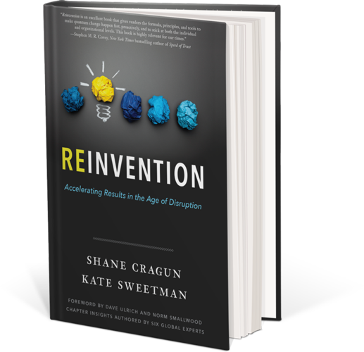 Book (Reinvention: Accelerating Results in the Age of Disruption)