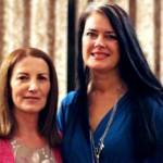 Lorna Byrne and Julie Bryant
