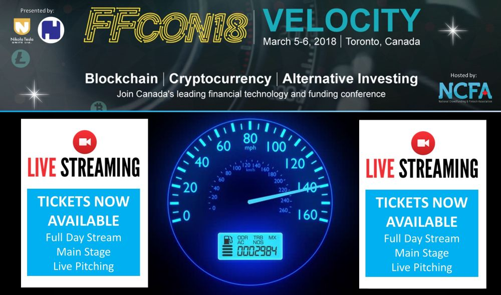 BLOCKCHAIN, CRYPTO, ALT INVESTING FFCON LIVE STREAM