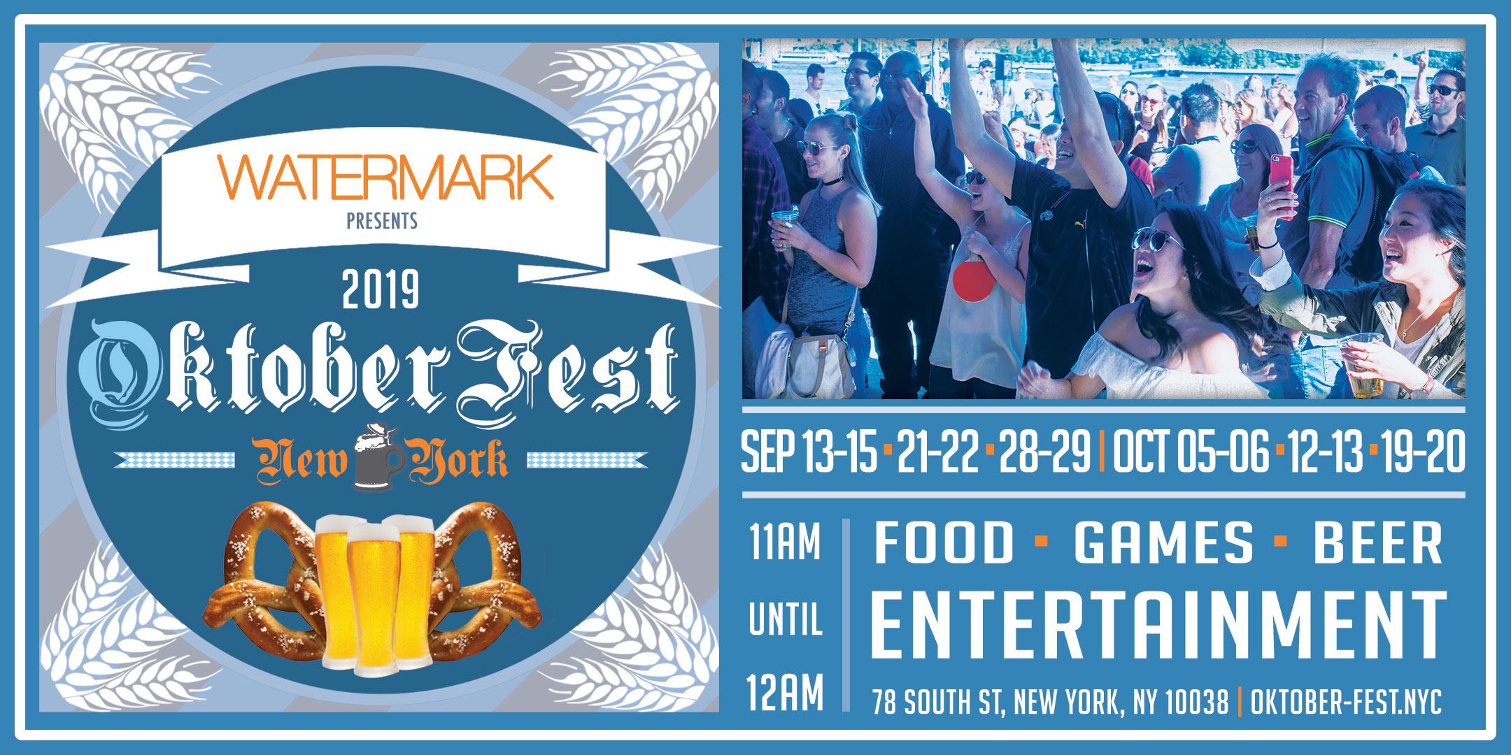 OktoberFest 2019 NYC at Watermark