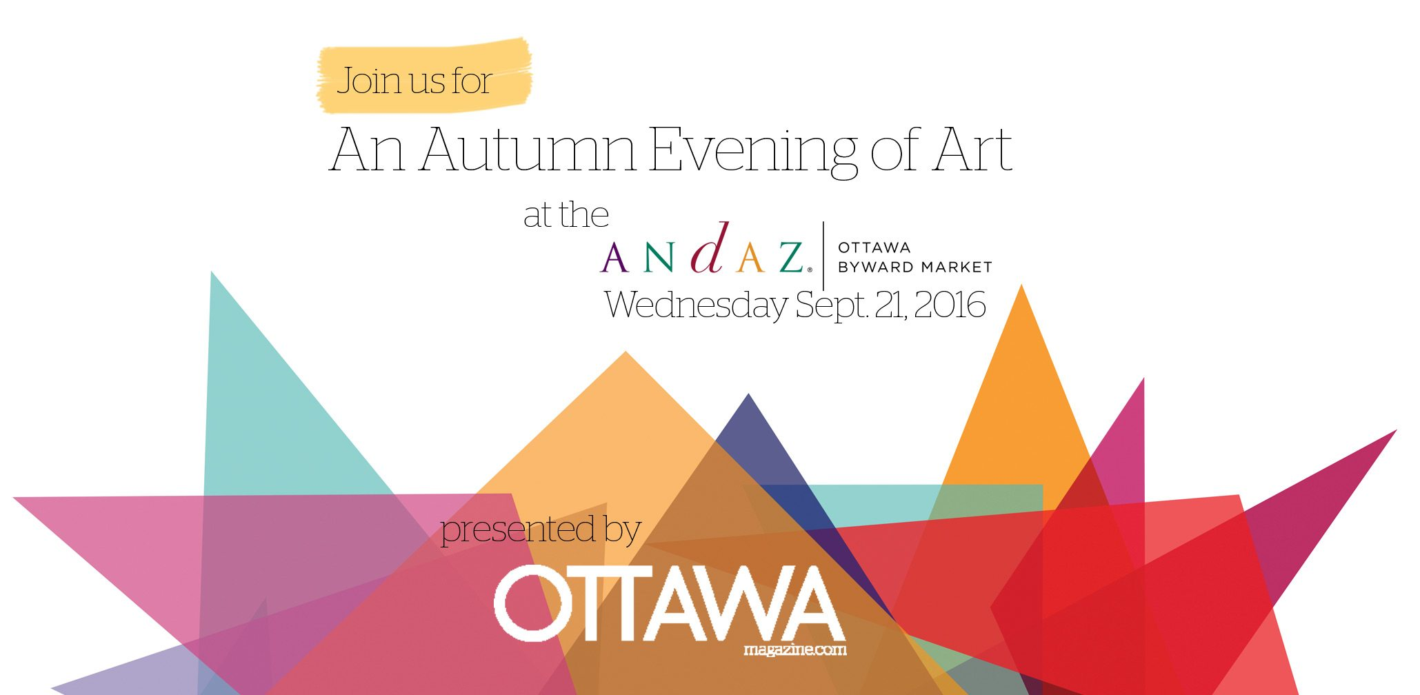 Andaz Event by Ottawa Magazine