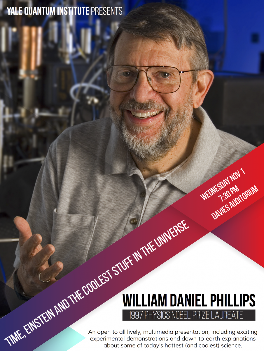 Flyer of lecture by William Daniel Phillips