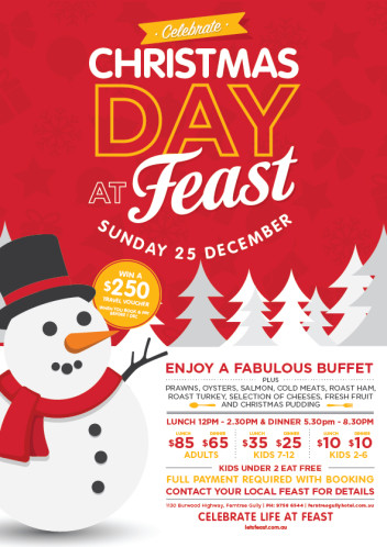 CELEBRATE CHRISTMAS DAY AT FEAST