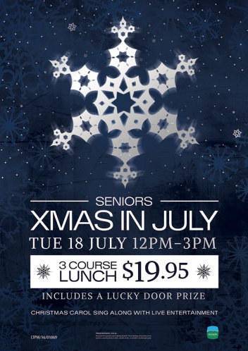 Christmas in July Seniors Lunch