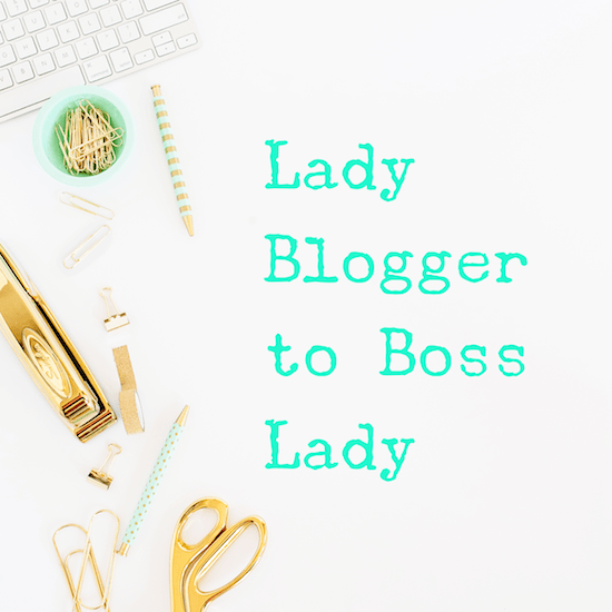 Lady Blogger