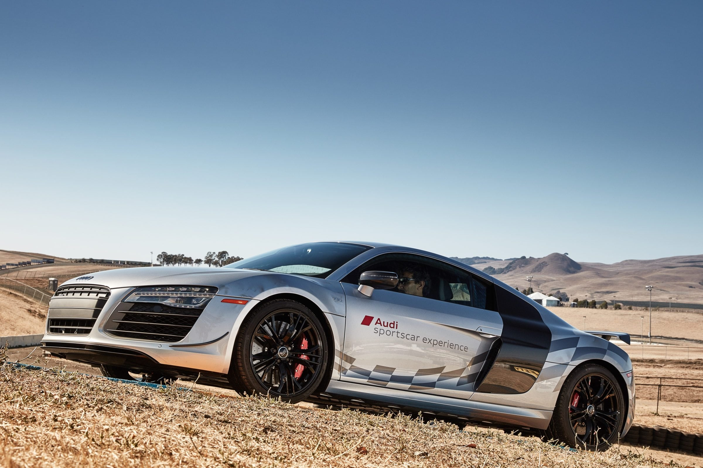 The 200mph Audi R8 V10 Competition, now at Audi sportscar experience, Sonoma