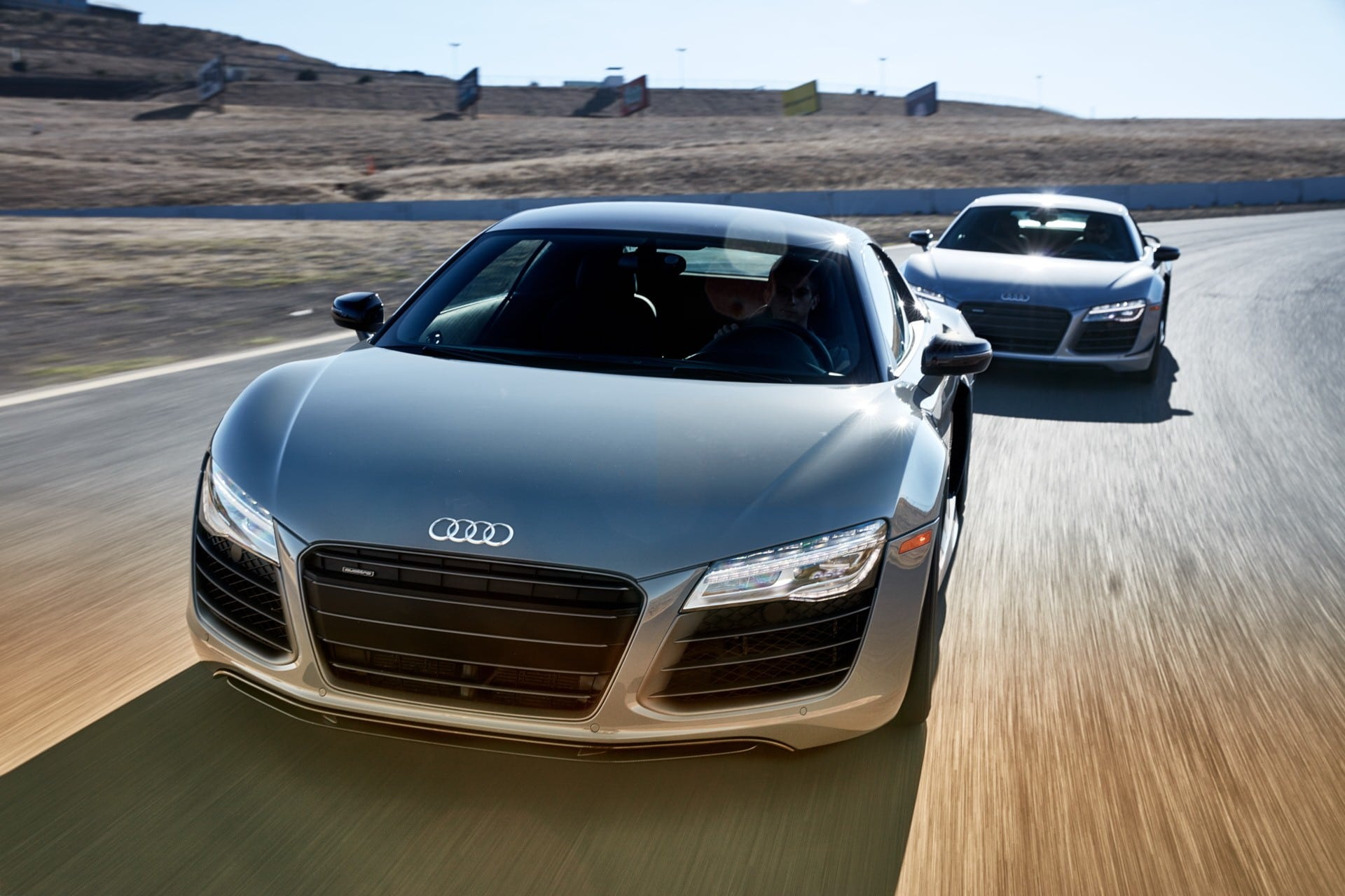 The limited edition Audi R8 V10 +, now available at Audi sportscar experience, sonoma