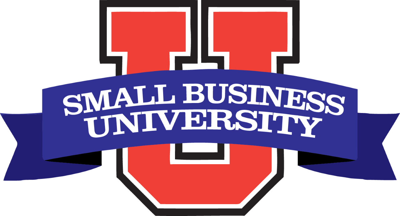 small business u logo