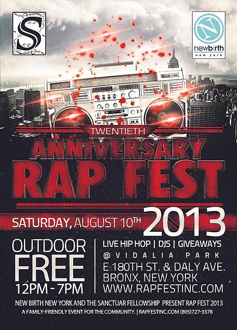 Rap Fest 2013 - Twentieth Anniversary