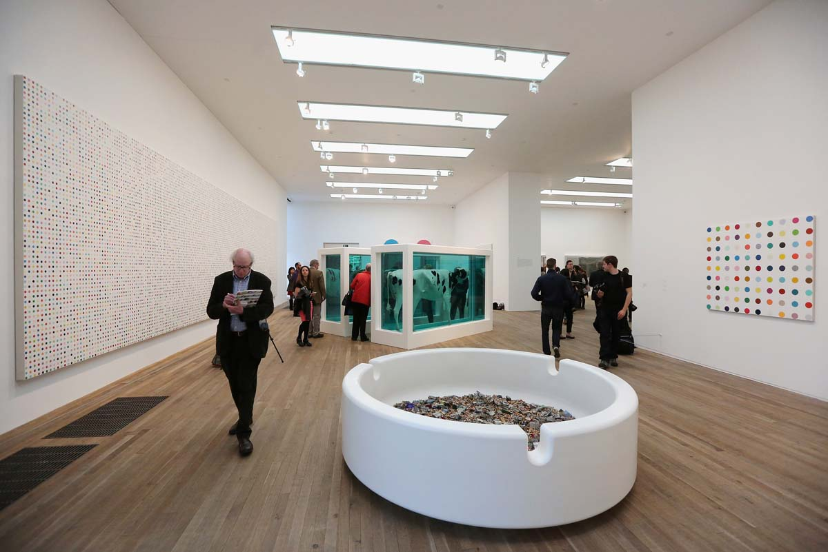 Tate Modern Launch The Damian Hirst Retrospective