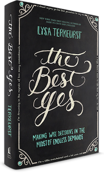 The Best Yes book