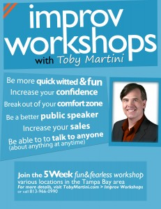Improv workshops in St. Pete