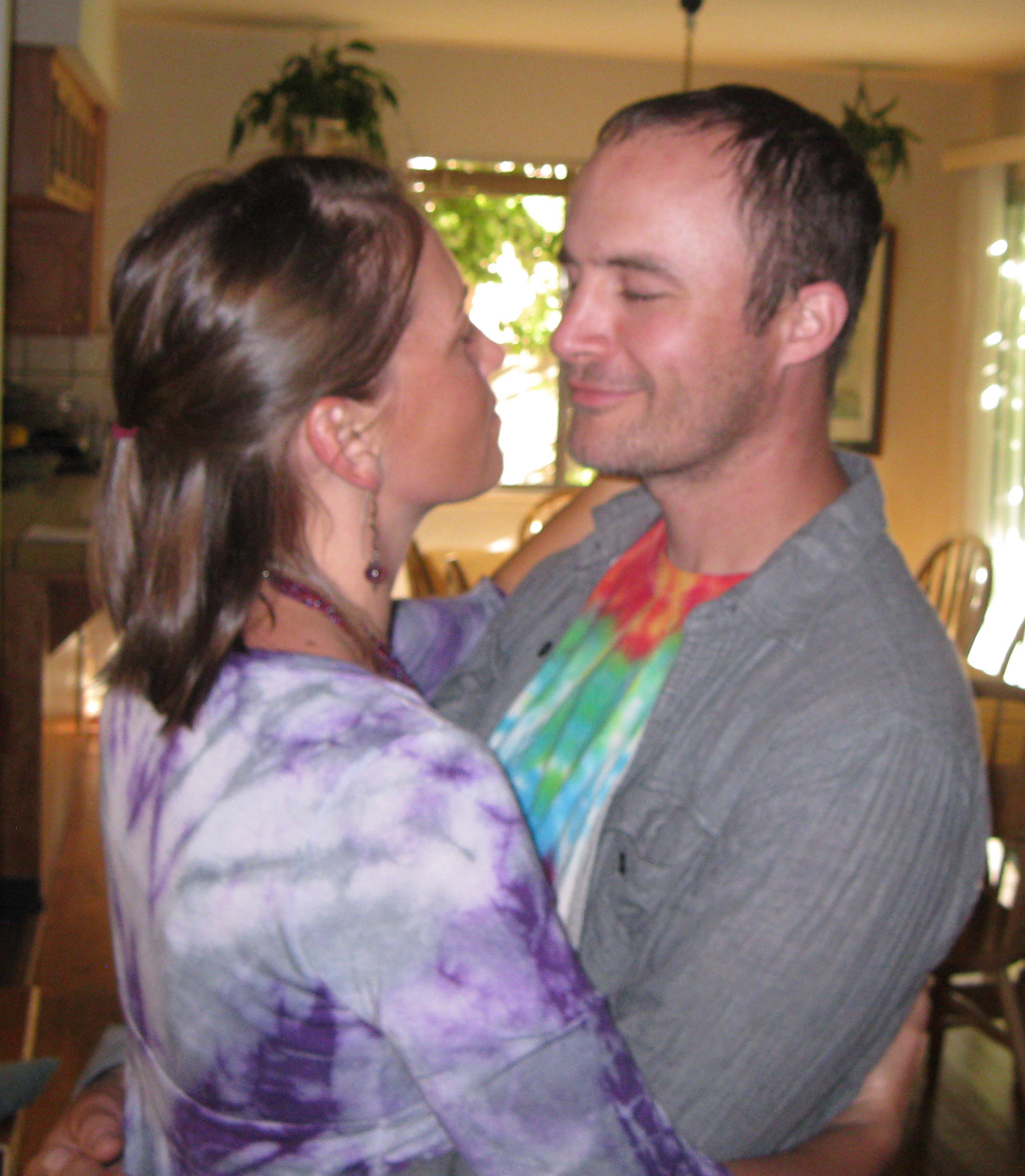Jenn and Kevin connect