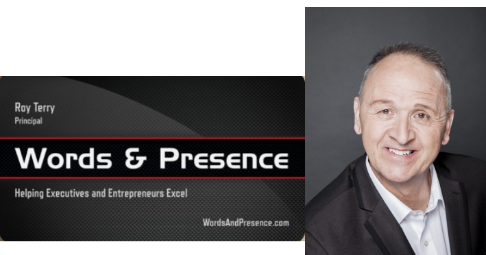 Words & Presence with Roy Terry