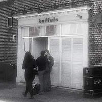 This is the Buffalo Bar - you can't miss it!