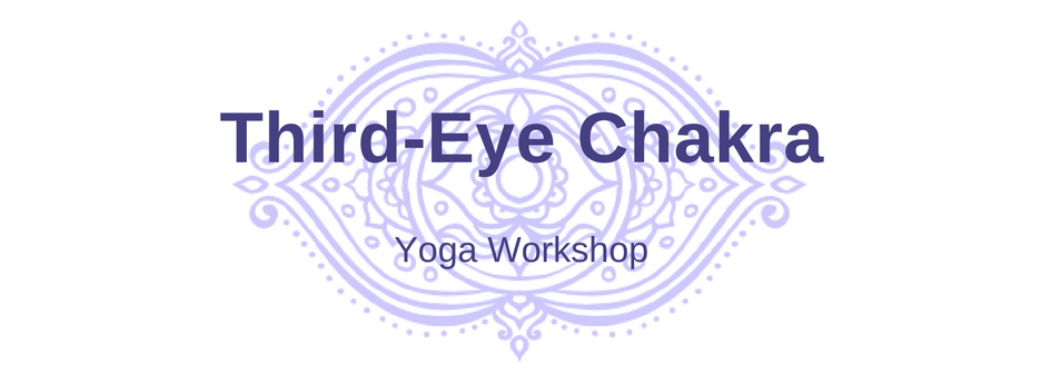 Third-eye chakra yoga workshop