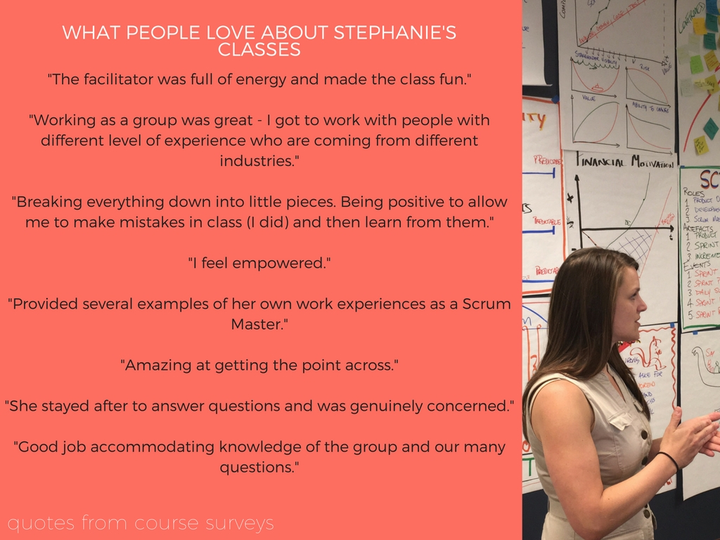 what people love about stephanies classes