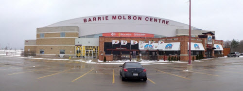 Barrie Molson Centre Panoramic View