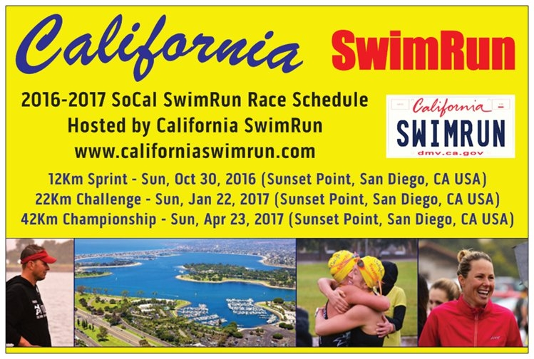 California Swim Run 12k Course