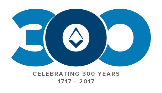 300 ann. logo