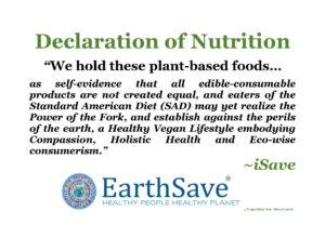 Placard Declaration Nutrition