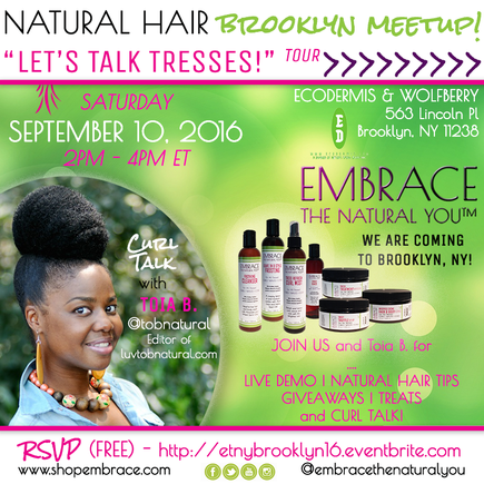 Embrace the Natural You Brooklyn Meetup September 2016