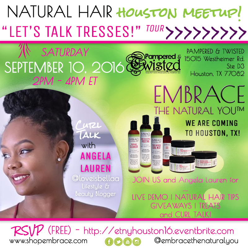 Embrace the Natural You Houston Meetup September 2016