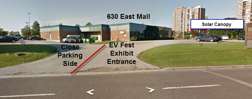 Google Street View of Entrance to 630 The East Mall - BAKA Mobile