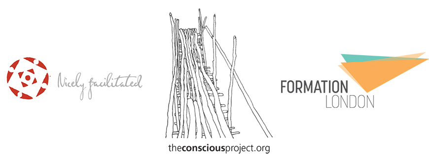 Nicely Facilitated Conscious Project Formation London Logos