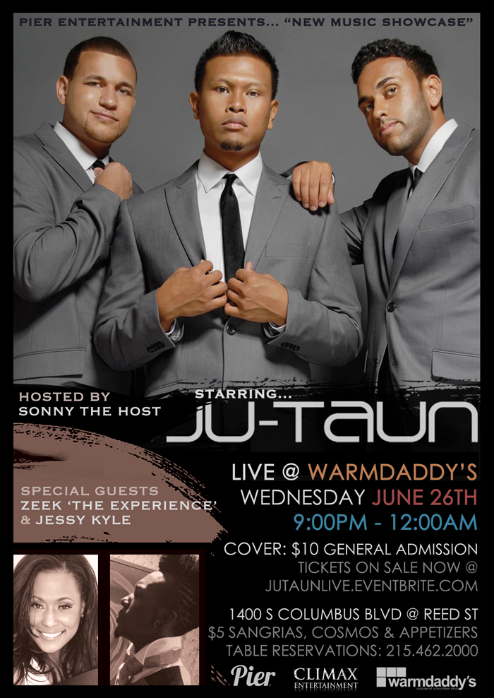 Ju-Taun Live at Warmdaddy's with special guest Zeek 'The Experience'