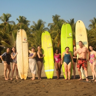 Surf lesson for all levels!