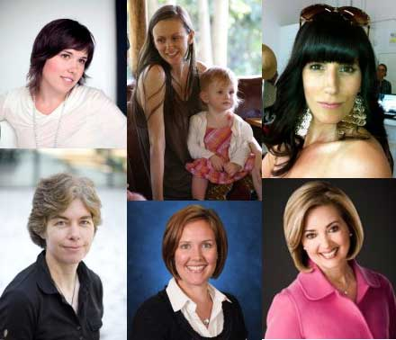 Leading Moms Collage