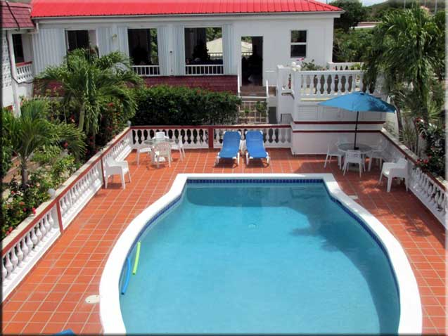 Pool at L'Esperance Hotel