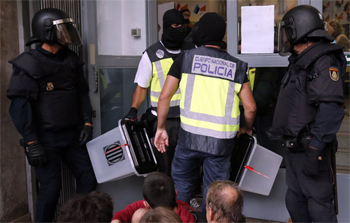 Votes removed by police